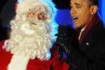 Obama da' il benvenuto al Natale: festa alla Casa Bianca