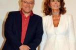 Carlo Verdone e Sofia Loren salutano il Taormina Film Fest