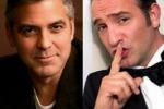 Clooney-Dujardin, coppia inedita al cinema