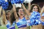 Al San Paolo di Napoli debuttano le cheerleaders