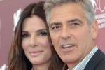 Festival di Venezia, apre la coppia Bullock-Clooney