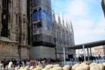 """Campaign For Wool, una """"sfilata di lana'' nel centro di Milano"""
