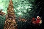 Hollywood accende l'albero di Natale: le immagini
