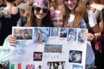 Folla di fans per i One Direction in Italia