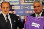 """Delio Rossi e' viola: """"Spero che Firenze diventi casa mia"""""""