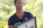 Cristiano Ronaldo protettore delle mangrovie a Bali