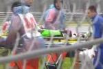 Moto, Antonelli muore in pista: le immagini