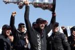 Coppa America, Oracle rimonta alla regata finale e trionfa