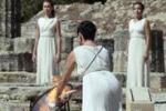Grecia: prove generali per la fiamma olimpica di Sochi 2014