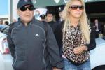 Maradona in Italia: le immagini dell'arrivo a Milano