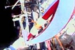 La Torcia olimpica in giro per lo spazio