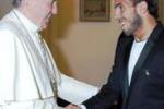 Emozione per Tevez: ricevuto dal Papa