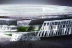Il nuovo stadio della Roma come il Colosseo: il progetto