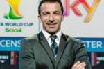 """Mondiali, Del Piero tra i cronisti Sky: """"In tv vinciamo noi"""""""