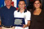Castellammare, premiato il velocista Di Gregorio
