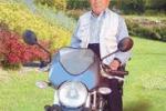 Calatafimi, in sella ad una moto a... 100 anni