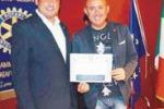 Castellammare, Salvaggio testimonial Rotary