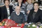 Festa a Trapani per i 100 anni di Vito Adamo