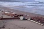 Mareggiate, danni alla passerella di Alcamo Marina