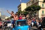 Trapani in B: in città scoppia la festa