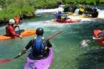 Trapani, giornata in canoa alla Riserva dello Zingaro