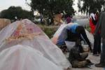 Tendopoli a Campobello di Mazara: le immagini del degrado