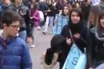 Ad Alcamo la protesta di studenti e disoccupati