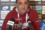 """Trapani, Boscaglia: """"Attenti alla Reggina, una squadra tonica"""""""