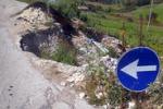 Frana sulla Calatafimi-Alcamo: pericoli per gli automobilisti