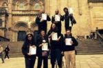 Trampolieri a Santiago de Compostela