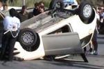Fuori strada con l'auto, muore a 25 anni ad Alcamo. Le immagini dell'incidente