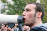 La protesta degli studenti palermitani