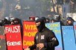 Protesta degli studenti, guerriglia a Palermo