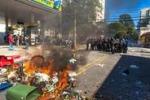 Mondiali, scontri a San Paolo: black block in azione