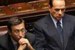 Scontro in diretta fra Berlusconi e Fini