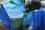 Sacchetti di plastica addio. Il servizio di Tgs