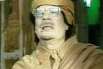 Gheddafi in tv attacca anche l'Italia
