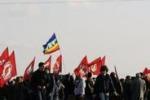 Aeroporto chiuso, protesta a Birgi. Il servizio di Tgs