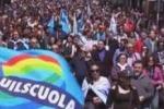 Manifestazioni a Palermo. Traffico in tilt