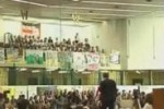 Da Tgs: aula bunker piena di studenti per Falcone