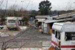 Palermo, pulizia al Campo Rom ma i rifiuti restano. Il servizio di Tgs