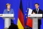 Sarkozy e la Merkel ridono di Berlusconi