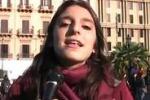 Manifestazione scuola a Palermo, le voci degli studenti