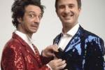 Il nuovo film di Ficarra e Picone, le scene del backstage