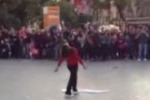 Palermo, flash mob in piazza Politeama