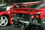 Incidente in Giappone, distrutte 8 Ferrari
