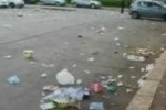 Palermo, rifiuti vicino allo stadio dopo le partite