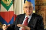 Napolitano: l'Italia puo' e deve farcela