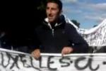 La protesta dei pescatori a Palermo