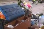 Rifiuti, ritardi nella raccolta a Palermo